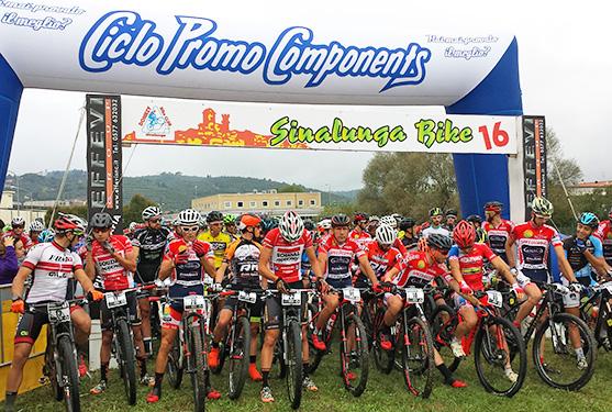 Partenza Sinalunga Bike 2016