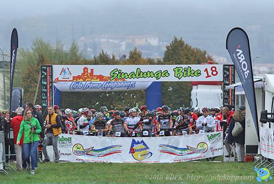 Partenza Sinalunga Bike 2018